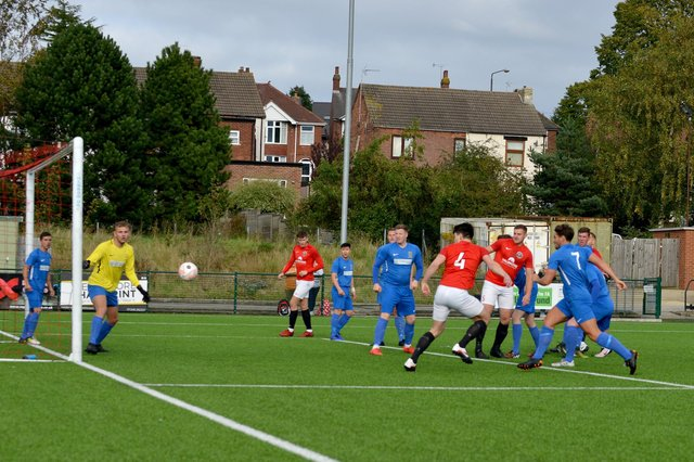 Past Teversal match action.