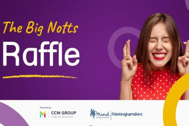 The Big Notts Raffle raise more than £1,600 for Nottinghamshire Mind
