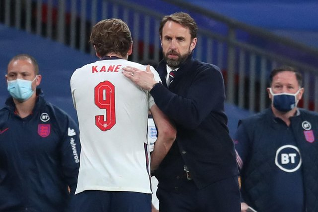 Harry Kane with Gareth Southgate - could they be Euro winners this summer?