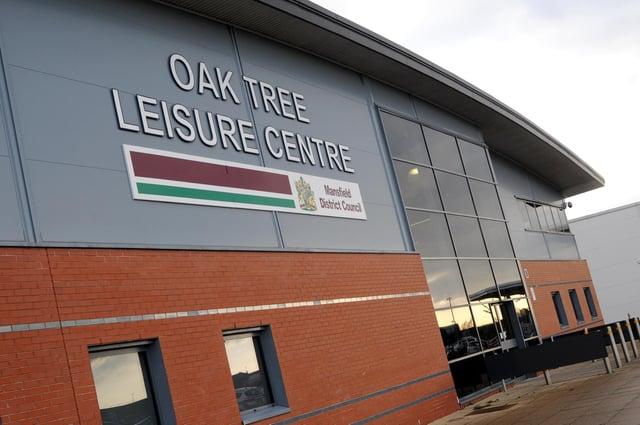 Mansfield's Oak Tree Leisure Centre.