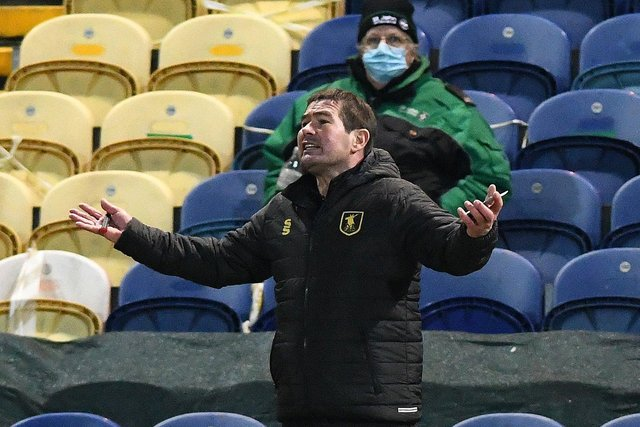 Mansfield's manager Nigel Clough. Picture: Andrew Roe/AHPIX LTD
