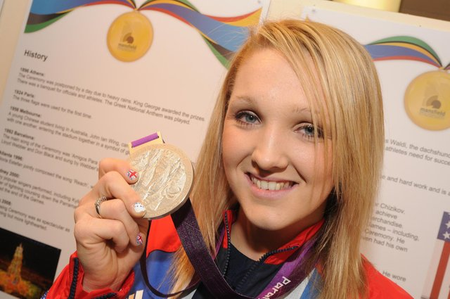 Charlotte Henshaw retired from a successful swimming career to become a para canoeist in 2017.