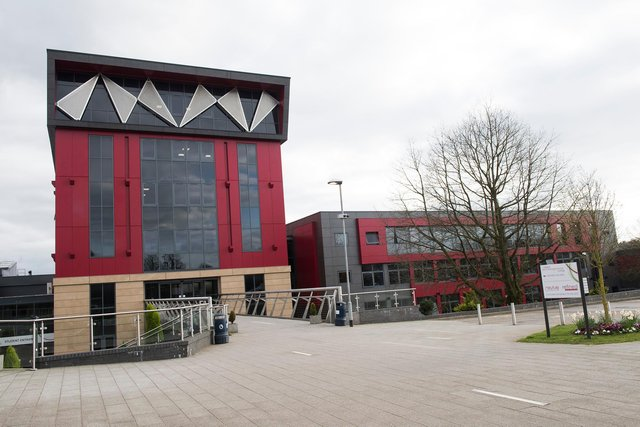 Vision West Notts College in Mansfield