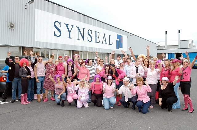 The Synseal factory on Common Road in Huthwaite