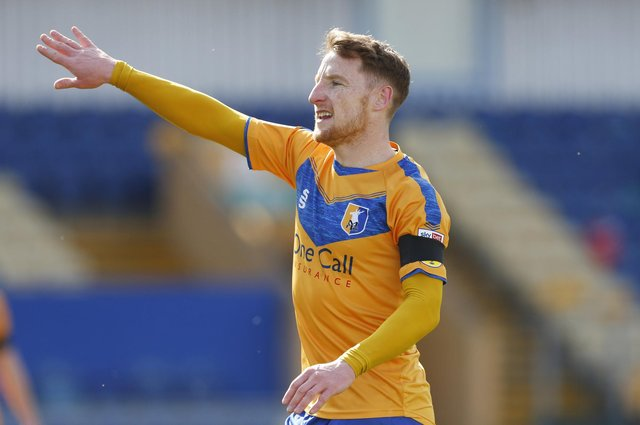 Mansfield Town's Stephen Quinn - consistent and experienced.