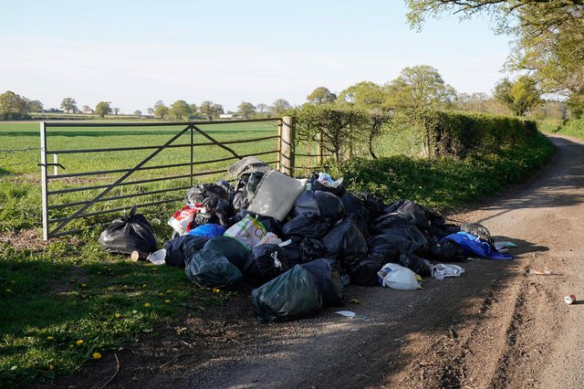 Funding has been awarded to Newark & Sherwood District Council to combat litter and fly-tipping hotspots near some of the area's busiest roads (Photo by Christopher Furlong/Getty Images).
