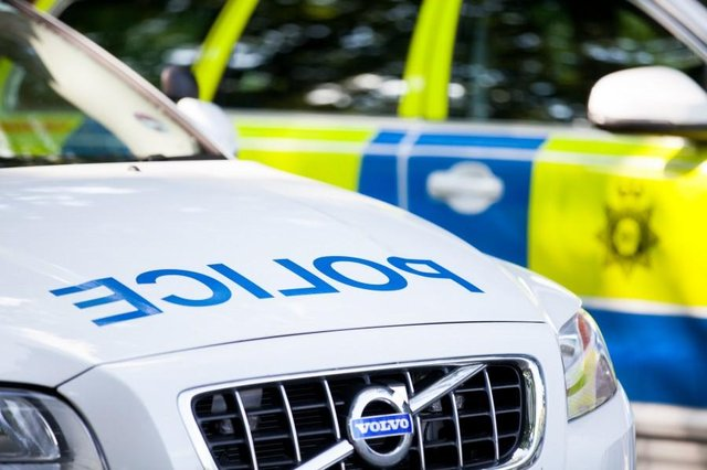 Police dispersed around 50 high-performance cars taking part in an organised cruising event on the Rainworth bypass on Saturday night.