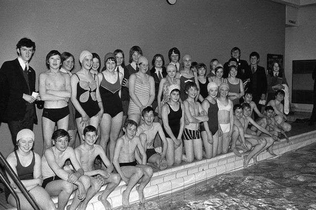 Meden School sponsored swim in 1970 - did you take part in this?