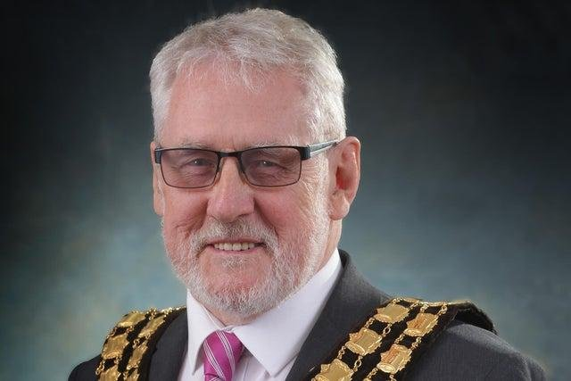 Chairman of Ashfield District Council, Tony Brewer