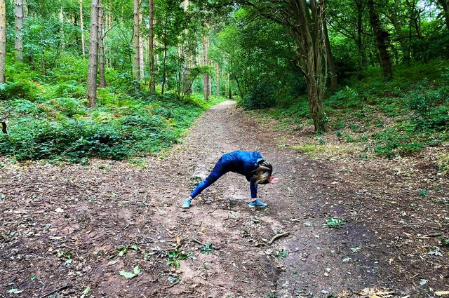 Outdoor yoga sessions are taking place at Sherwood Pines