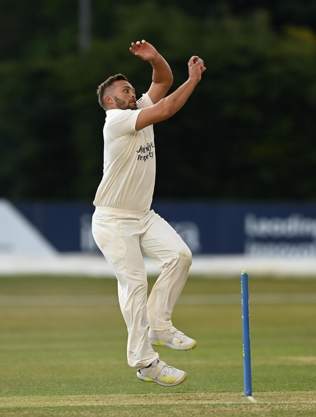 Dane Paterson took three late wickets to swing the balance. (Photo by Gareth Copley/Getty Images)