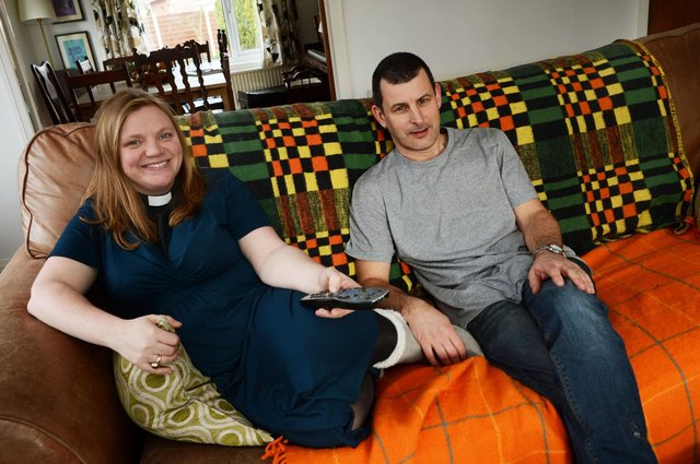 The Rev Kate Bottley appeared on Gogglebox along with her husband Graham