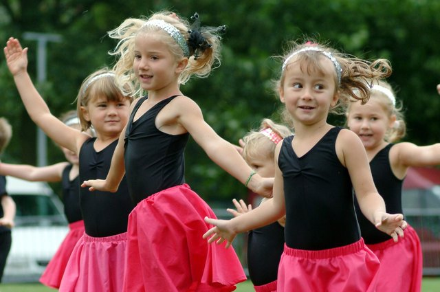 Pop Divas take to the arena at the Ashfield Show - do you recognise any of the dancers?