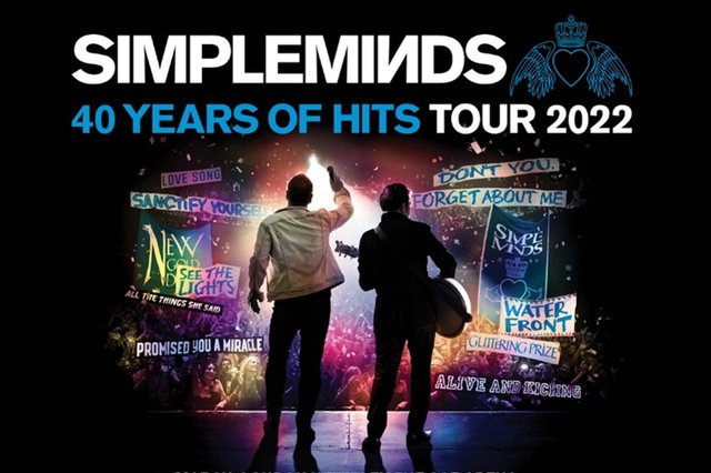 Don't miss the visit to Motorpoint Arena Nottingham by Simple Minds