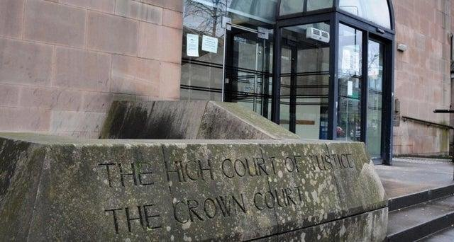 Nottingham Crown Court, where Matthew Northridge appeared to appeal his conviction