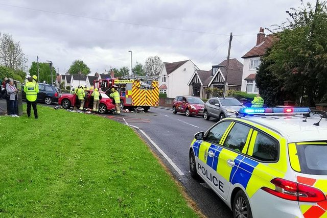 The scene of the incident in Shirebrook. Shirebrook SNT via Facebook.