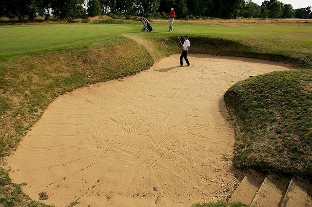 England Golf hoped action could return earlier.  (Photo by Warren LIttle/Getty Images)