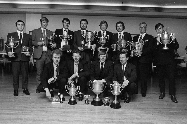 Sutton and Skegby Football League dinner - do you recognise anyone?