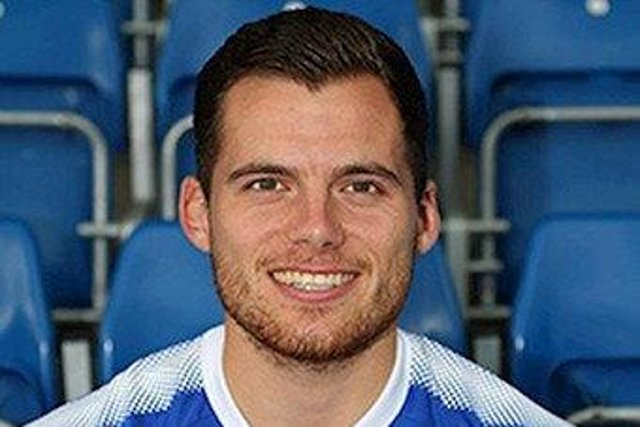 Footballer Jordan Sinnott. (Photo: SWNS).