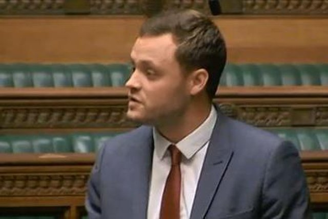 Mansfield MP Ben Bradley, who welcomed the controversial report into racism.