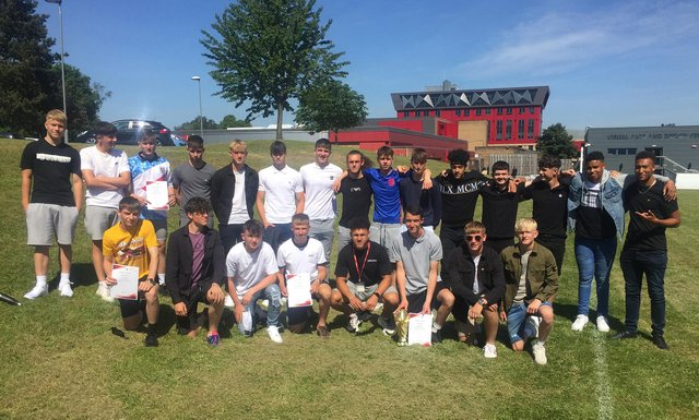 BTEC National Foundation Diploma in Sport - Mansfield Town Performance Football students