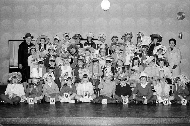 Mansfield's Ladybrook School's Easter bonnets - can you spot any familiar faces?