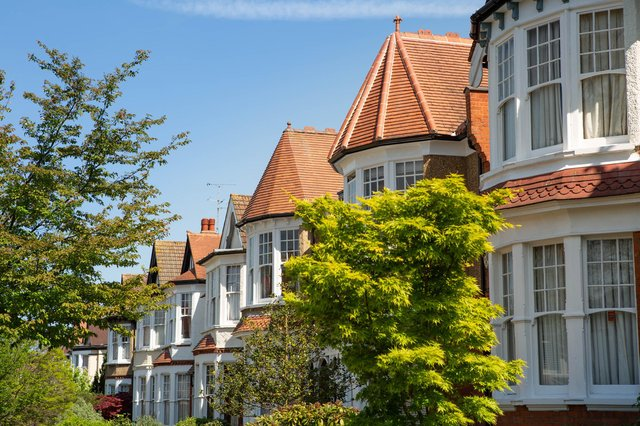 Many areas around the UK saw dramatic increases, with the pandemic seeing people buy homes, and property value soaring (Photo: Shutterstock)