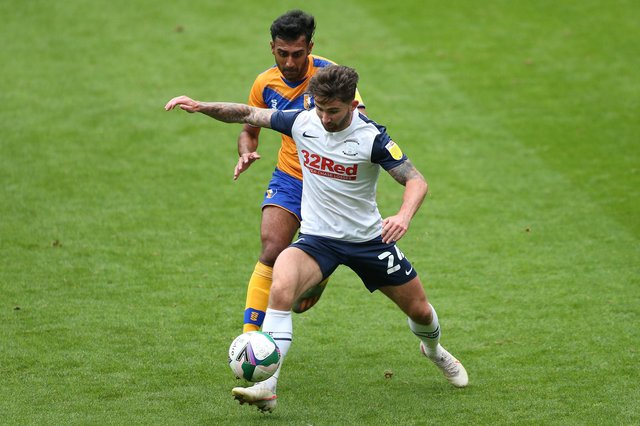 Stags v Preston in a repeat of last year's first round clash. (Photo by Charlotte Tattersall/Getty Images)