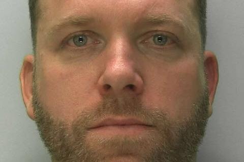 Former Mansfield Town striker Shayne Bradley has been jailed for stalking his ex-girlfriend.