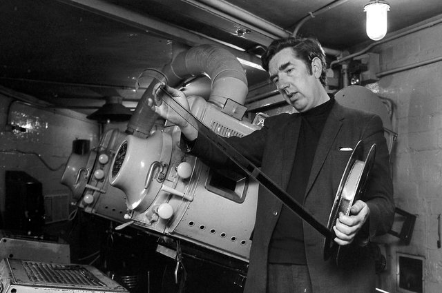 Did you work in the projection room of the Granada?