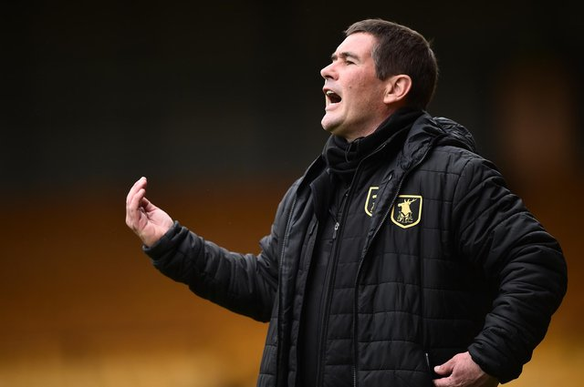 Nigel Clough has signed two keepers in as many days for the Stags.