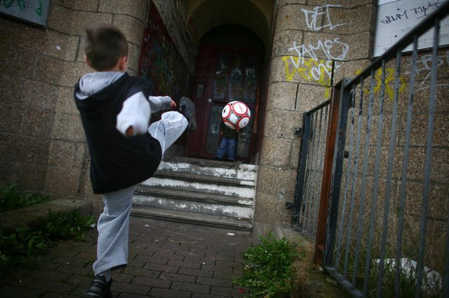 Child poverty rose in Mansfield before the Covid-19 pandemic. (Photo by Jeff J Mitchell/Getty Images