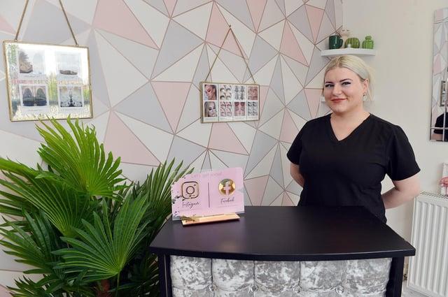 Award-winning hair salon owner Berdie Wilkes