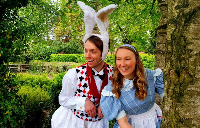 Alice in Wonderland characters will be at Mansfield's Wonderfest