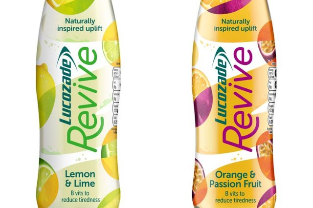 Revive - the new drink from Lucozade