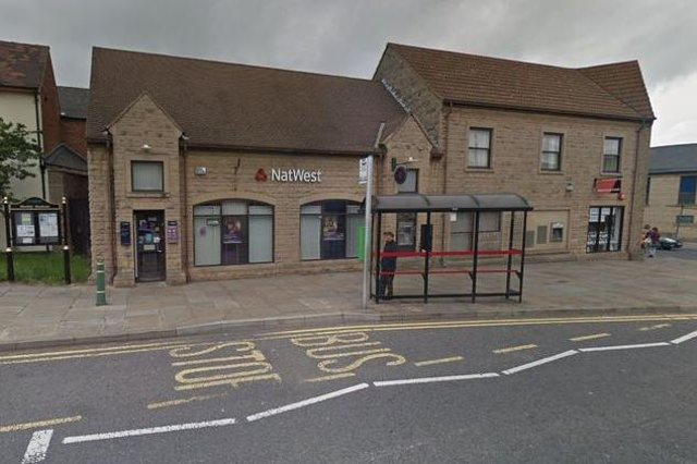 The former NatWest Bank building in Mansfield Woodhouse, pictured before it closed about five years ago.