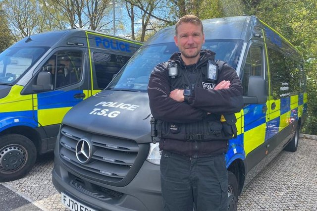 Police Constable James Patterson