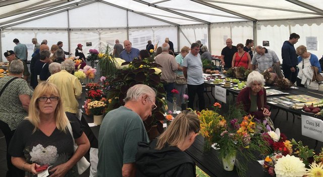 The Garden and Craft Show, organised by Mansfield BID, is a very popular town centre event.