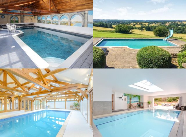 10 Nottinghamshire homes with amazing swimming pools that you can buy right now.