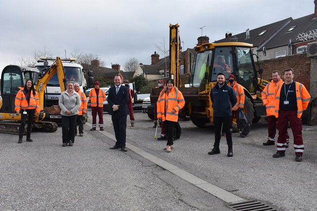 Ashfield District Council has carried out a major day of action to tackle 'environmental crime' in the New Cross area of Sutton.