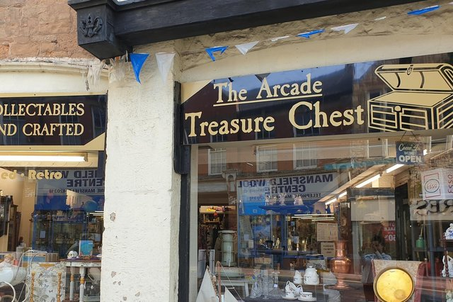 The Arcade Treasure Chest in Mansfield is the second shop to be targeted in less than a week.