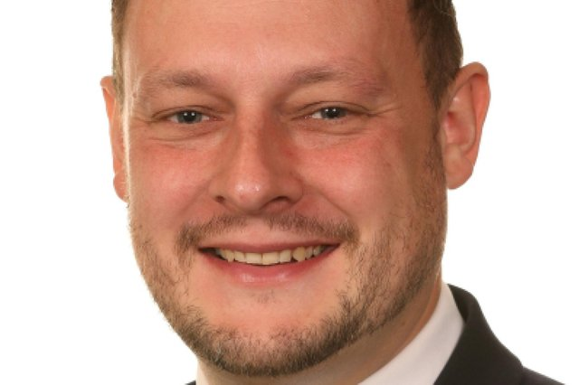 Coun Jason Zadrozny, leader of Ashfield District Council and the leader of The Independent Group on Nottinghamshire County Council.