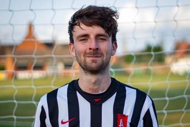 Marcus Beddoe. Photo: Clipstone FC.