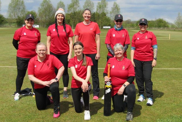 Welbeck Wildcats softball cricket team.