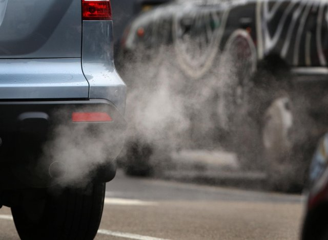 People in Mansfield were exposed to levels of air pollution close to breaking a safe limit recommended by the World Health Organisation (WHO), figures reveal.  (Photo by Peter Macdiarmid/Getty Images)