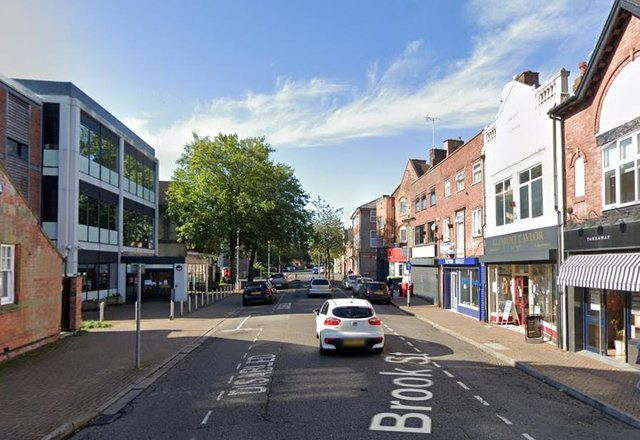 Brook Street, Sutton: Photo Google