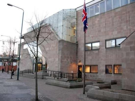 Nottingham Crown Court, where James Chandler was jailed today.