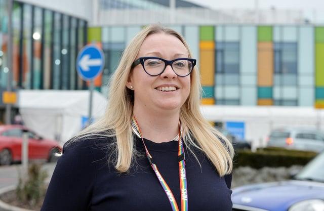 Sherwood Forest Hospitals chief nurse, Julie Hogg.