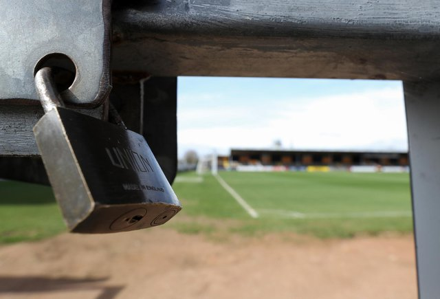 What next for football with grounds locked up?
