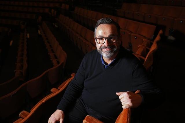 Sheffield Theatres chief executive Dan Bates. Picture: Chris Etchells.